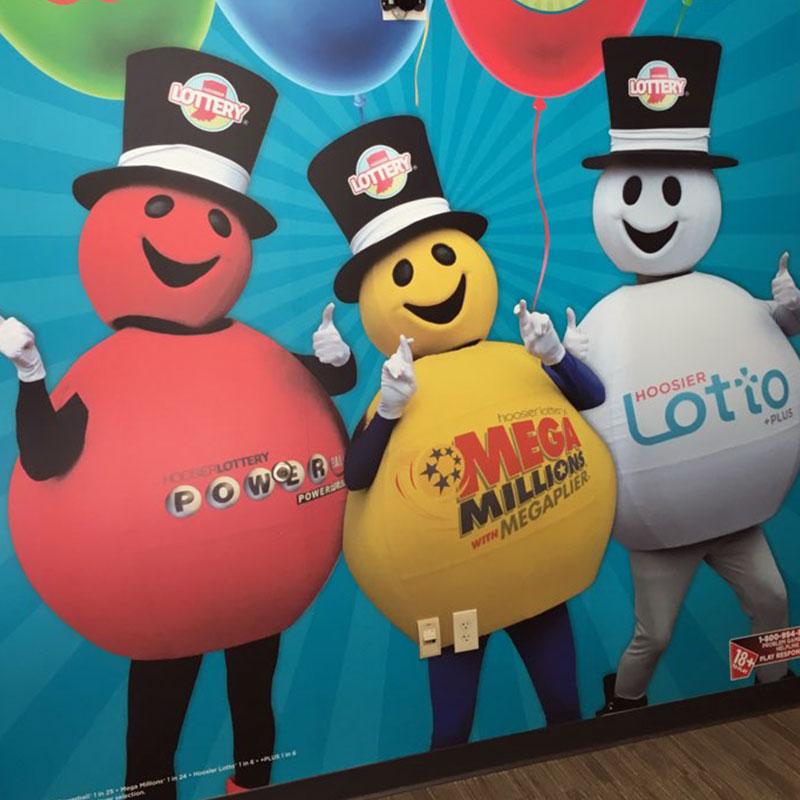 Hoosier Lottery Walls